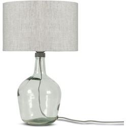 Tafellamp Murano 3220 linnen licht, S