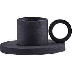 House Doctor - Kandelaar the ring black - 4.2cm