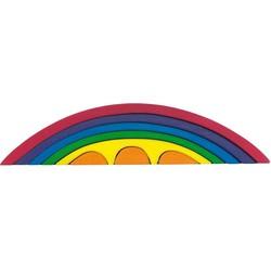 Brug Regenboog Set 8-delig Hout - Glückskäfer