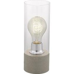 Eglo Torvisco Tafellamp Grijs - 27 cm