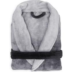 Badjas Ombre dark gull grey - 100% Polyester