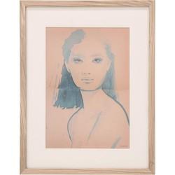 HK Living Canvas Print Aimee M 45 x 35 x 1,5