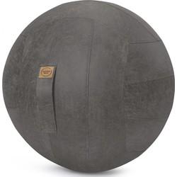 Sitting Ball Zitbal Frankie Leder 65 cm - Antraciet
