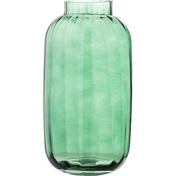 Bloomingville Vaas Glas Groen - 32 x Ø16 cm