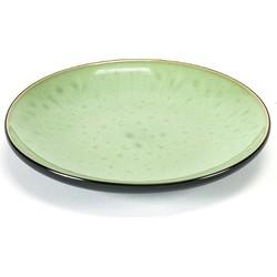 Serax Pure Bord Groen/zwart - 16 cm