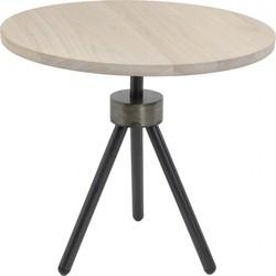Spinder Design Bijzettafel Anna Hout 50cm