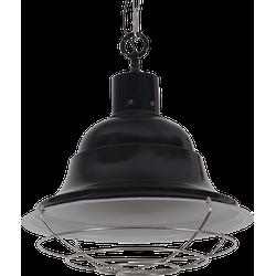 Hanglamp Goccia groot Glans Zwart