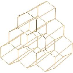 Wijnrek Daimond Piramid Goud (6 flessen)