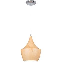 Linea Verdace Hanglamp Tipi White Wood - Ø24cm - H32cm