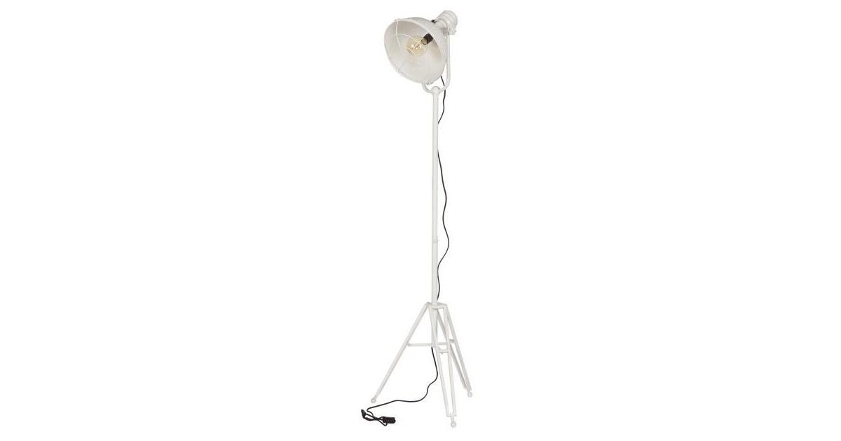BePureHome Vloerlamp Spotlight wit