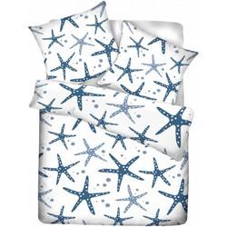 Esmara Dekbedovertrek Starfish Maat: Lits-jumeaux (240 x 220 cm + 2 kussenslopen)