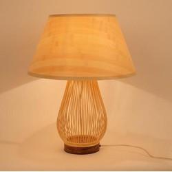 """Fine Asianliving Fine Asianliving Bamboe Tafellamp Handgemaakt - """"Toby"""""""