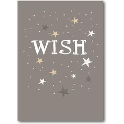 Rozijntjes Hippe kerstkaart Wish