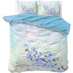Sleeptime Dekbedovertrek Sweet Flowers Blue-240x200/220