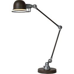Lucide Honore Bureaulamp - Roest bruin