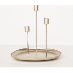 Candle holder for 3 - Iron eye