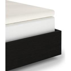 Topper hoeslaken off-white - 95% Katoen-jersey 5% lycra