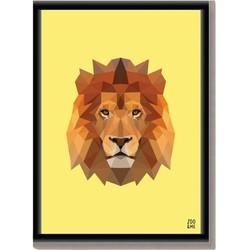 Dierenposter Leeuw - A4
