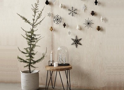 26x stylish kerstdecoratie