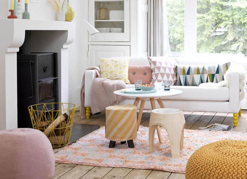 De mooiste pastelroze interieurs alles om van je huis je thuis