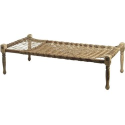 Silt 'n pure daybed Charpai touwbed 172x86x42,5/53 cm