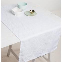 Tablerunner Linen - White