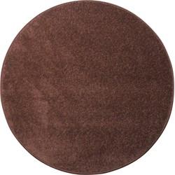 Karpet Banton - Bruin - 80 cm Rond