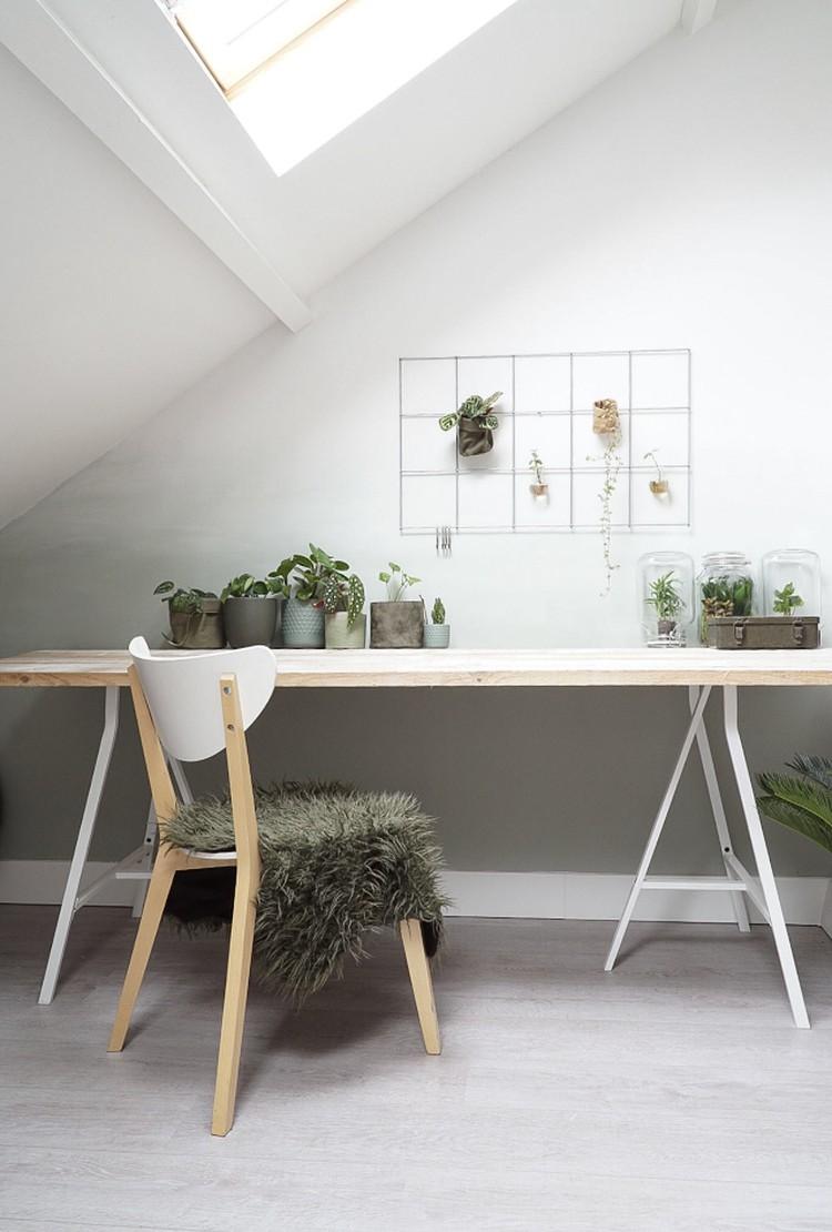 werkkamer plant groen