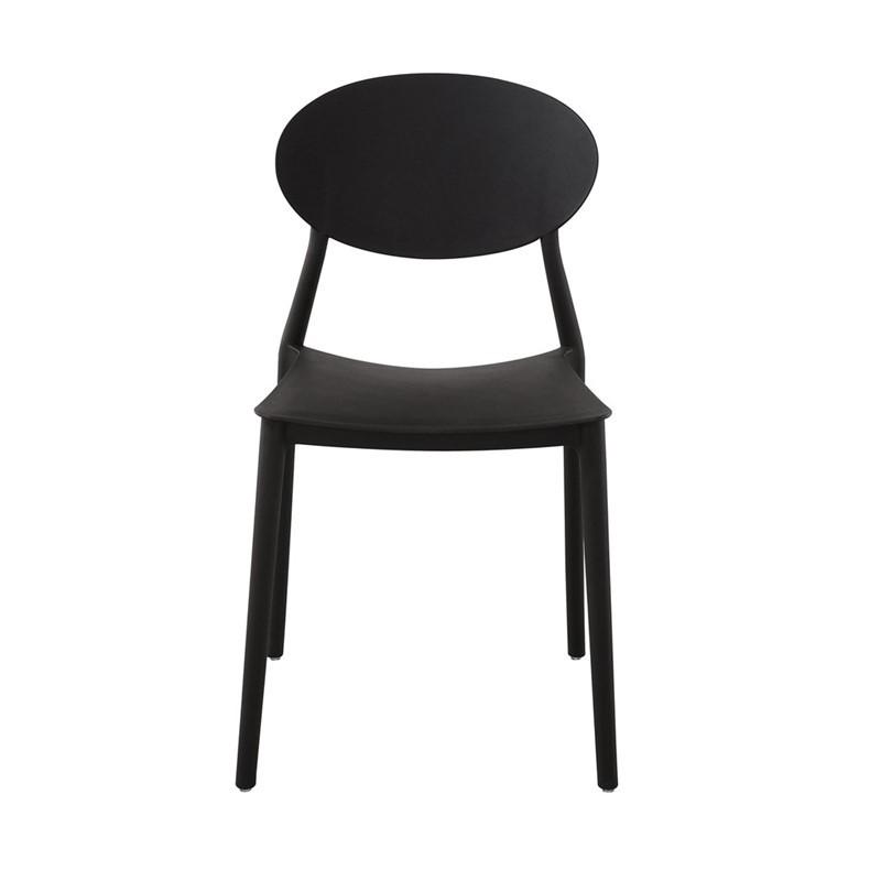 Mega stoel - zwart - set van 4 -
