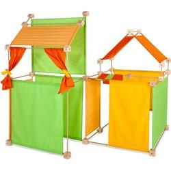 Speelhuis Maxi PCG Oranje 150 delig - Trigonos