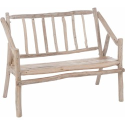 Nature - zitbank - hout - naturel - takken