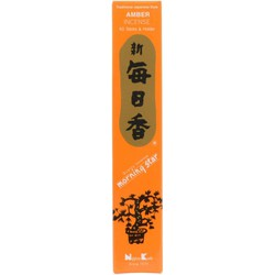Fine Asianliving Morning Star Japanse Wierook Amber  50st