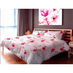 Dekbedovertrek Luxery Elegance - 140x220 + Flap - 1 Kussensloop 60x70cm