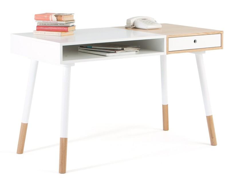 Woodman Sale - Bureau Sonnenblick L120 X B60 X H75 Cm - Mat Wit -