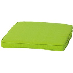Madison zitkussen wicker Panama 48x48 cm - lime groen