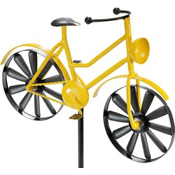 Home affaire Dekostecker »Yellow Bike« aus Metall