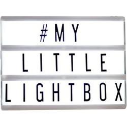 Locomocean Lightbox A4 Zwart