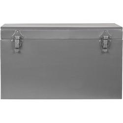 LABEL51 - Opbergkist Vintage 30x15x20 cm S - Industrieel - Antiek grijs