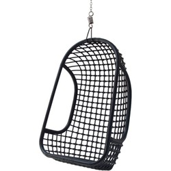 HK-living hanging chair, hangstoel zwart