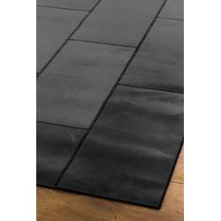 Massimo Leather Rug New black - 150 x 210 cm