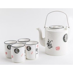 Fine Asianliving Chinese Thee Set Porselein Chinese Zodiac