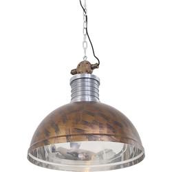 Industrial Pendant Lamp Rust Brown - Daryl
