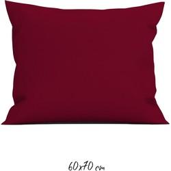 Kussensloop 60x70 cm aurora red - 100% Katoen-perkal