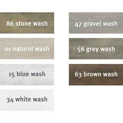 Bopita Basic Wood Speelgoedbak Op Wielen - White Wash (BOX251)