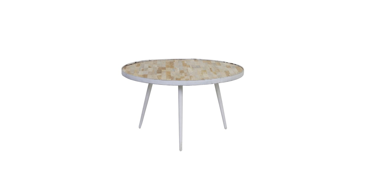 Side Table Donker Hout.Salontafel Puico Mix Hout Donker Bruin Reviews
