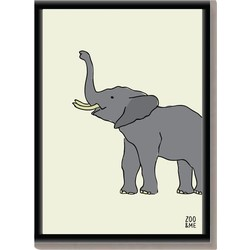 Dierenposter Olifant - A4