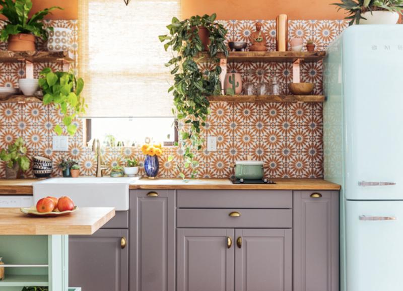 5x kleurrijke tegels in de keuken