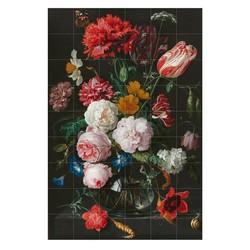 IXXI - Blumenstillleben in einer Glasvase (De Heem), 120 x 180 cm