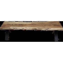 Eetbank SoHo - 160 cm - acacia/ijzer