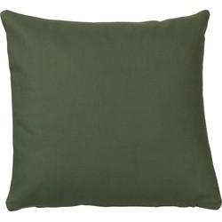 Kussenhoes Uni 40x40 cm groen